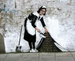 street art,banksy,banksy il mago dello stencil,chi è banksy