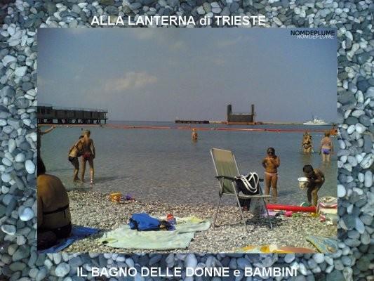 Il pedocin di trieste separati in spiaggia - Bagno lanterna trieste ...