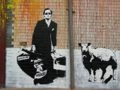 Blek le rat, Leake Street, Waterloo, London.jpg